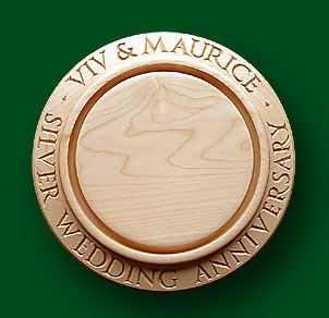 Viv & Maurice - Breadboard for Anniversaries