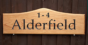 Alderfield. - House Signs