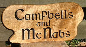 Campbell - House Signs