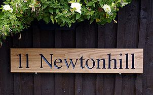 Newtonhill - House Signs