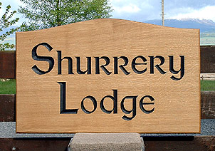 Shurrery Lodge - House Signs