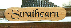 Strathearn - House Signs