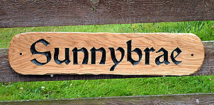 Sunnybrae - House Signs