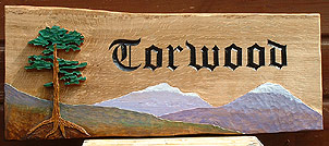 Torwood - House Signs