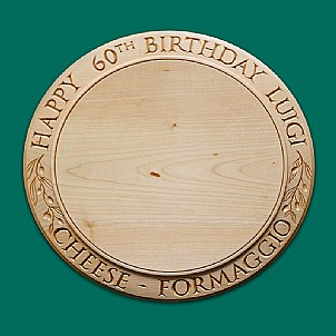birthday cheese board Olive decoration two languages for cheese