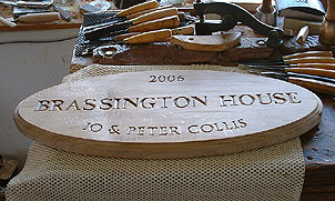 Brassington - House Signs
