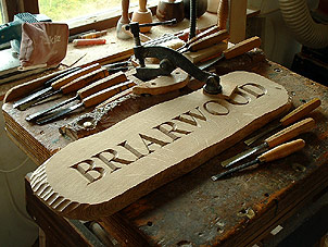 Briarwood - House Signs