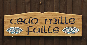 Celtic sign - House Signs