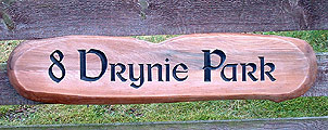 Drynie - House Signs