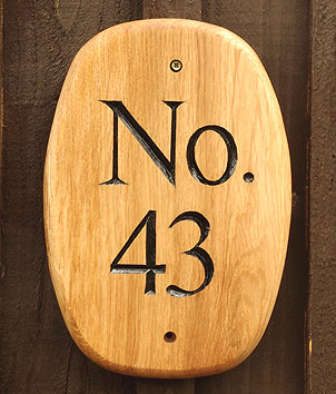 House Number - House Signs