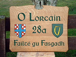 O'Lorcain - House Signs