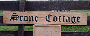Scone Cottage - House Signs