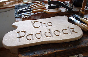The Paddock - House Signs