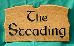 The Steading - House Signs