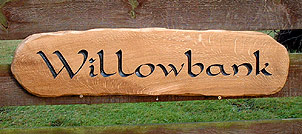 Willowbank - House Signs